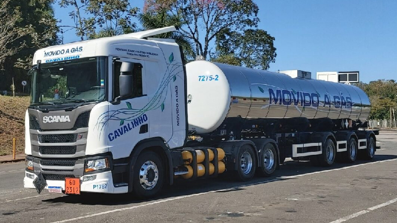 Caminhões Scania | Transportadoras fazem parceria e testam Scania a gás