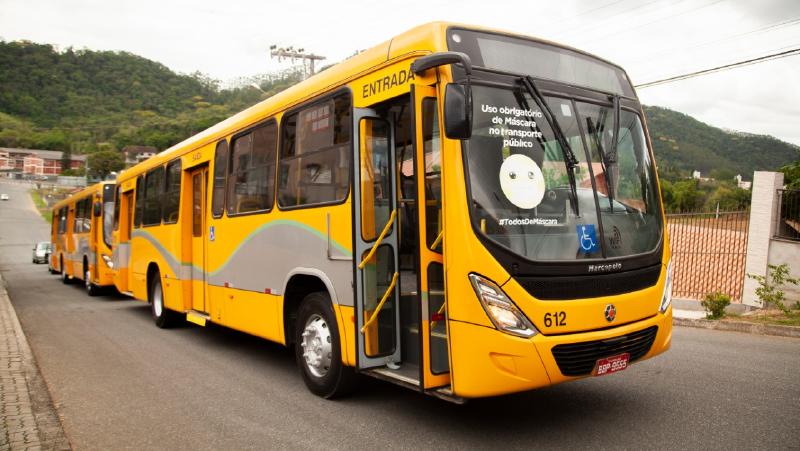 Transporte coletivo | Uso da frota do transporte público de Joinville/SC